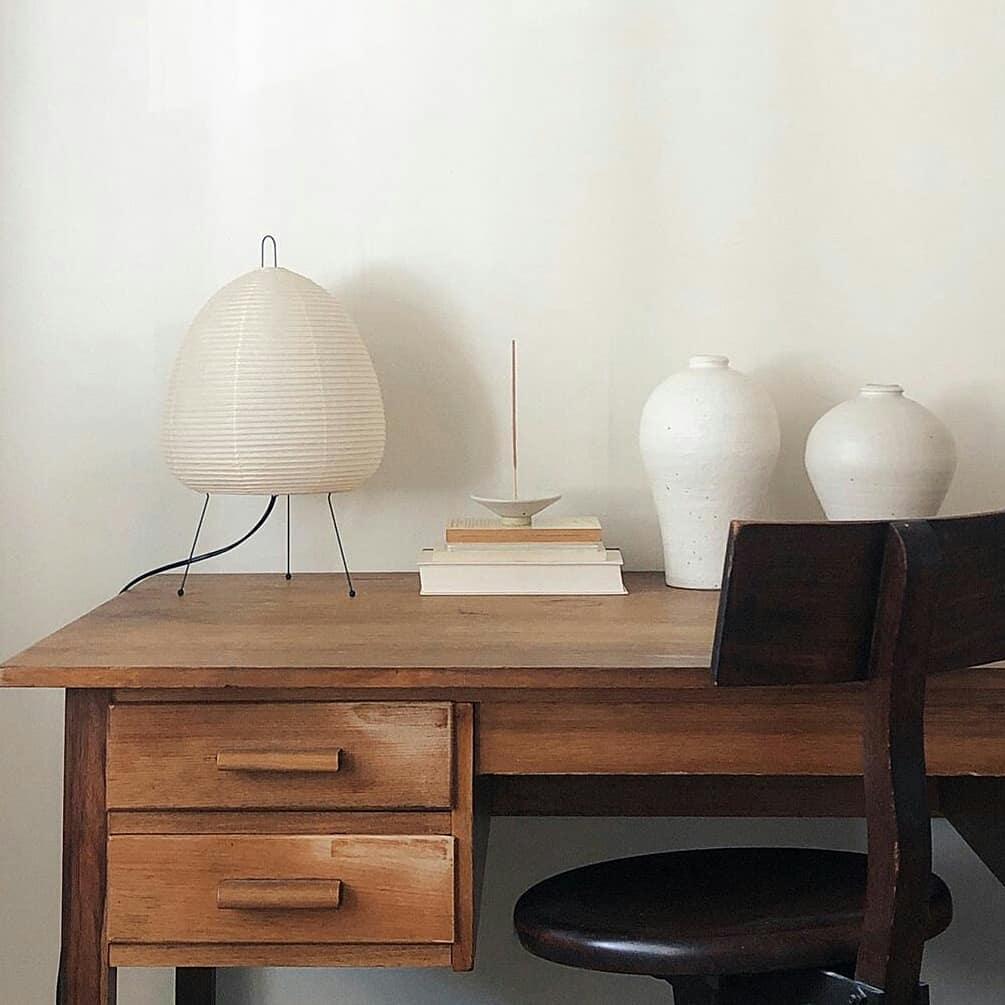 Akari Table Lamp Surrounding